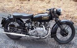 1949 Vincent Touring Rapide