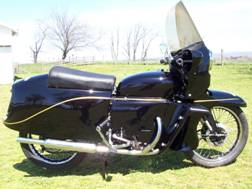 1955 Vincent Black Knight